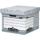 Fellowes R-Kive Storage Box Grey 00810 (Pack of 10)